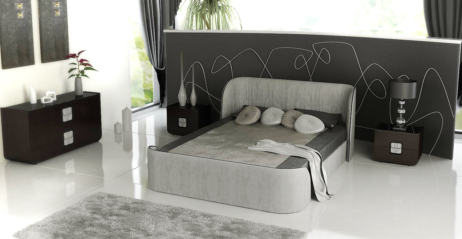 Arredamento camera da letto design iannuzzo rappresentanze for Arredamento camera letto